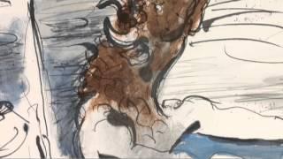 Minotaure Aveugle Conduit Par Une Petite Fille (Picasso)