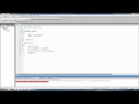 C Programming Tutorial 41, Unions