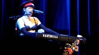 Dresden Dolls - Truce (second half) @ Wilbur Theatre #1, Boston, MA 11/2/10