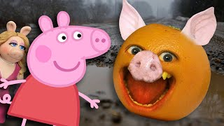 Annoying Orange vs Peppa Pig (Hog Wild!)