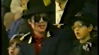 MJ in Moscow. September 1996.