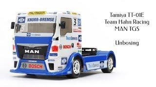 Unboxing: Tamiya TT-01E - Team Hahn Racing MAN TGS