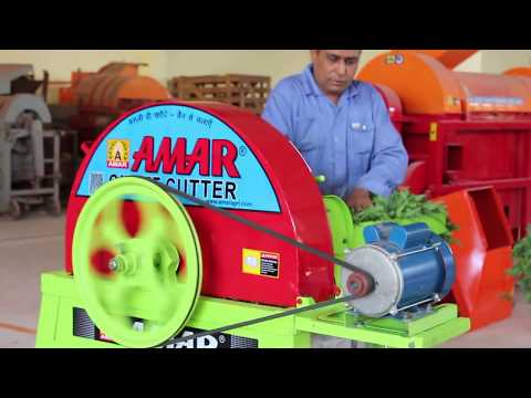 Amar Chaff Cutter Machine 2 HP 2/3 Blade Steel Gear Revisable Model