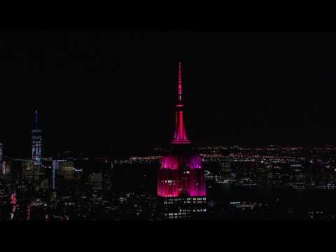 Empire State Building - Dead & Company - Touch of Grey - Live Music-to-Light Show