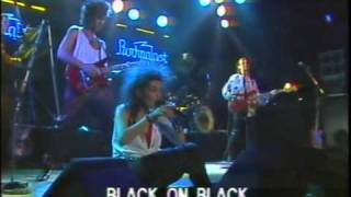 Dalbello live at Rockpalast 1985 - part 10 - Black On Black