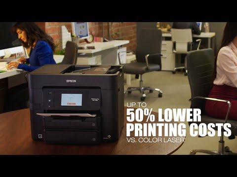 WorkForce Pro WF-4740 All-in-One Printer | Inkjet | Printers