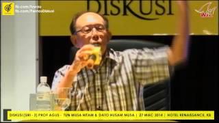 preview picture of video 'Jangan Ghairah! Nasihat Tun Musa kepada Royalti'