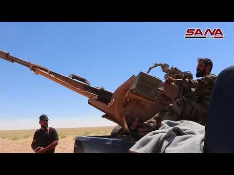 過去24時間のシリア:東部ダーラアの軍隊は40以上の地域を解放する