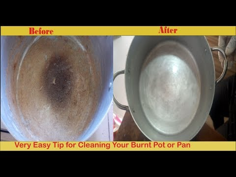 Easy Way To Clean Your Burnt Pot : How to Clean a Burnt Pot/Pan Quickly