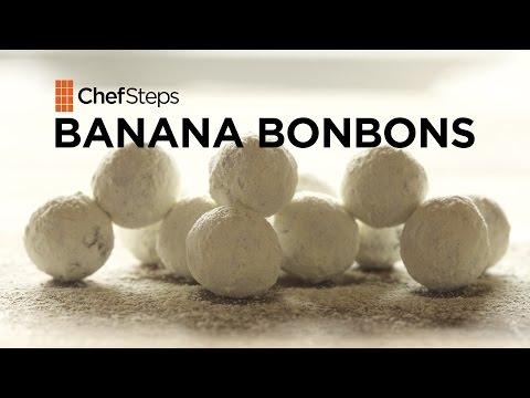 Chocolate-Covered Banana Bourbon Candies