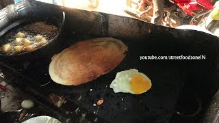 Village EGG Dosa | Egg karam Dosa at my Village | Anda Dosa | Nellore Street Food