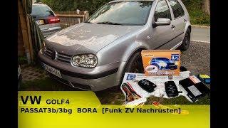 VW GOLF4      PASSAT3b/3bg      BORA [Funk ZV Nachrüsten]