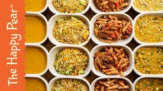 €20 MEAL PREP FOR WEIGHT LOSS for 1 week, 1 hour prep time   VEGAN & OIL FREE