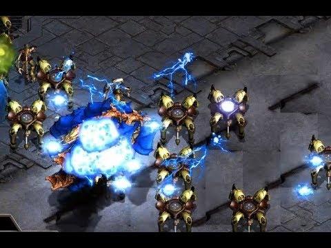 F91(Z) v kurOa (P) on Match Point - StarCraft  - Brood War REMASTERED 2019