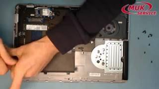 Ремонт ноутбука HP ProBook 650 G2 - замена батареи