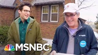 Day In The Life Of A Bernie Sanders Canvasser | MSNBC thumbnail