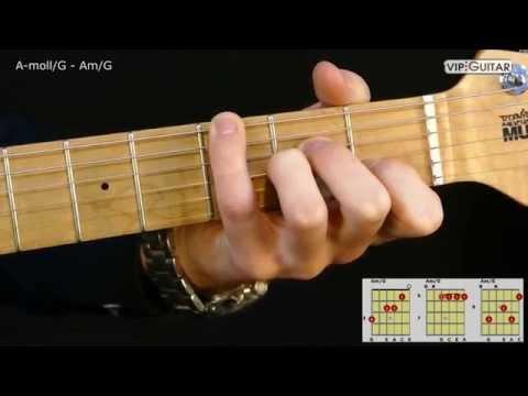 Gitarrenakkorde: A-Moll/G - Am/G chord