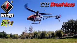 WLTOYS V913 RC Helicopter | Can It Handle High Winds?