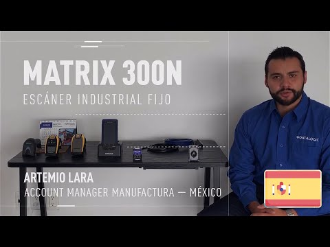 Datalogic Matrix 300N™ demonstration video (Spanish only)