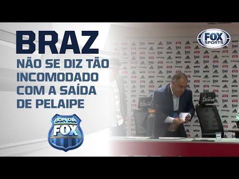 MARCOS BRAZ NÃO SE DIZ TÃO INCOMODADO COM A SAÍDE DE PELAIPE: 'Bom Dia Fox