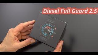 Diesel Full Guard 2.5 Smartwatch - Unboxing & erster Eindruck | deutsch