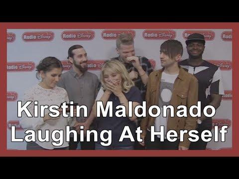 Kirstin Maldonado Laughing At Herself