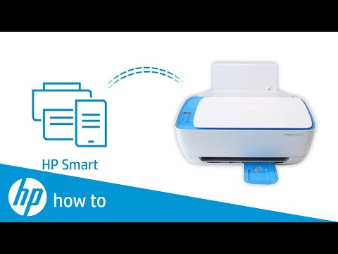 Learn how to set up a wireless HP printer using HP Smart in Windows 10.