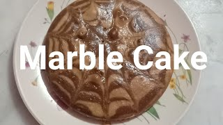 Marble cake /coffee marble cake without egg/cake