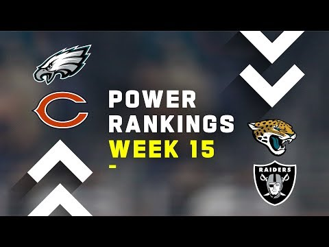 Week 15 NFL Power Rankings!