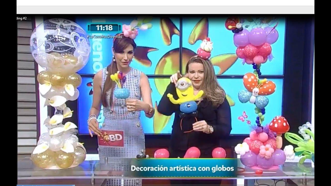 Curso de Globos, Entrevista Buenos Dias TVN Panamá