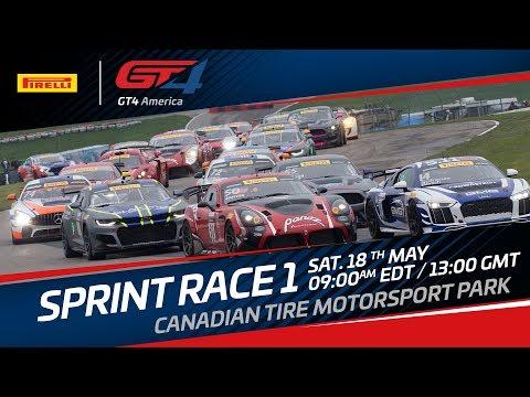 RACE 1 - Canada - Pirelli GT4 America Sprint  2019 LIVE
