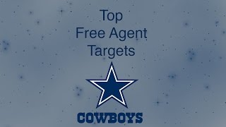 Top Free Agent Targets for Dallas Cowboys