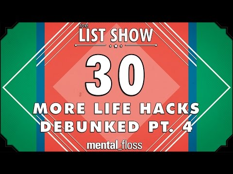 Watch 30 Popular Life Hacks Get Put To The Test