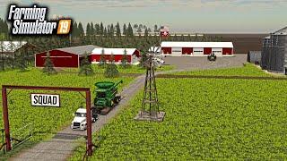 BUILDING $3,000,000 FARM FROM SCRATCH! (CATTLE RANCH) | FARMING SIMULATOR 2019