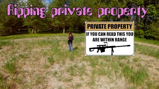 Quarantine ripping private property..(FPV freestyle) including crashreel..
