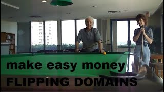 How To Make EASY MONEY Flipping Domain Names