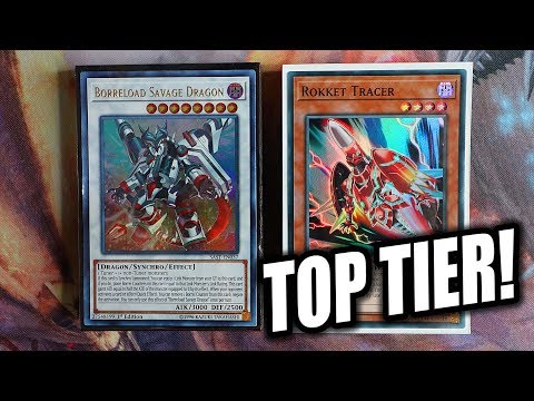 Yu-Gi-Oh! BEST! NEW ROKKET DRAGON LINK DECK PROFILE! + 1 CARD COMBO! AUGUST 2019 FORMAT (TOP TIER)