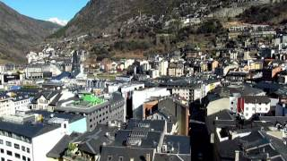preview picture of video 'Andorra La Vella Андорра ла Велла Эскальдес март 2012'
