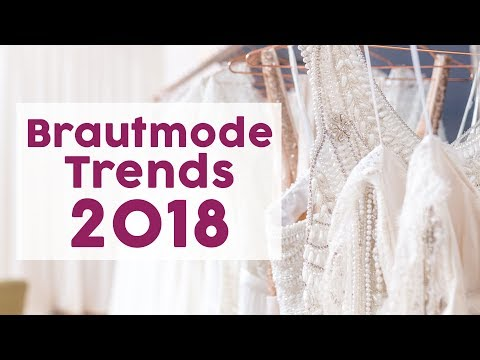Das sind die Brautkleider-Trends 2018
