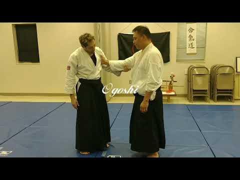 Uchikomi Ogoshi practice and basics Sensei Jeff Christenham (Sarpy Aikido Club)