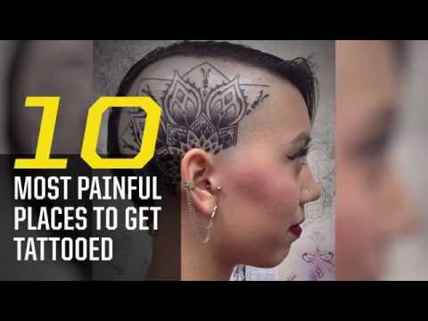 Video The 10 Most Painful Places to Get Tattooed