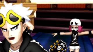 [MMD] Pokémon - Guzma wishes Gladion a happy happy birthday