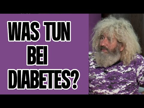Thrombose des Beines und Diabetes
