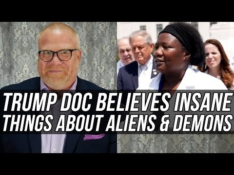 Watch Trump's New COVID Dr. (Stella Immanuel) Talk About Alien DNA, Demons in Boxes, & LOTS MORE!
