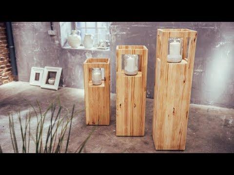 Cómo hacer unas columnas porta velas - Programa completo - Bricomanía