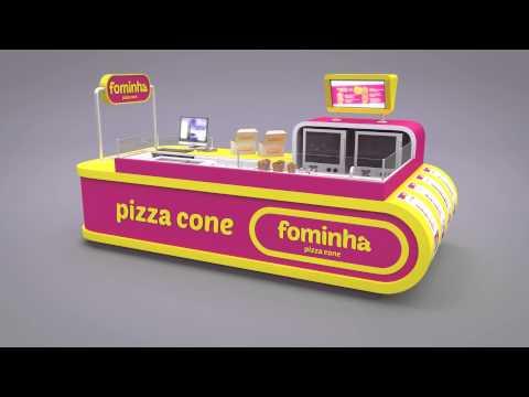 Quiosque Fominha Pizza Cone