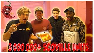 EXTREME ACIDIC HOT WING PRANK! (3 MILLION SCOVILLE UNITS)