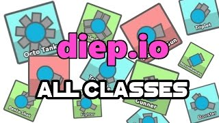 Gameplay Of ALL Tanks [diep.io Gameplay] *OUTDATED*
