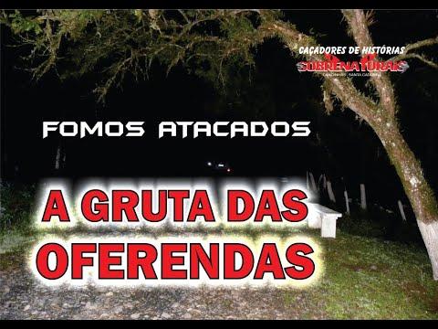 A GRUTA DOS ESPÍRITOS - EXU NOS PROTEGEU DOS ATAQUES