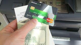Как выводить электронные деньги ? Банковская карта Advanced cash